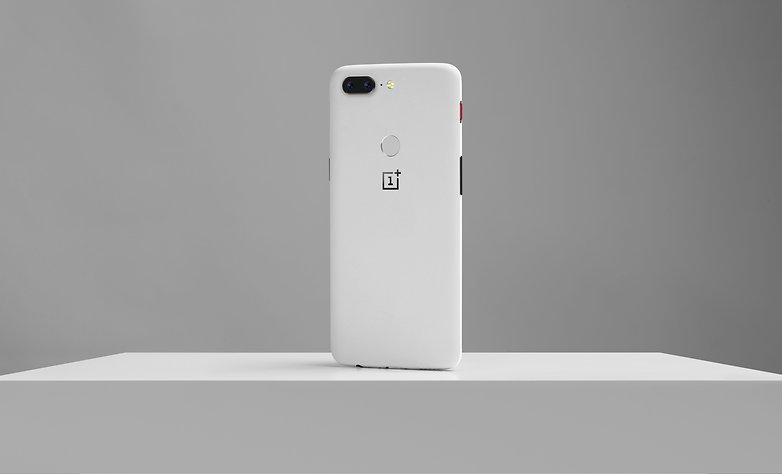 androidpit oneplus 5t sandstone white