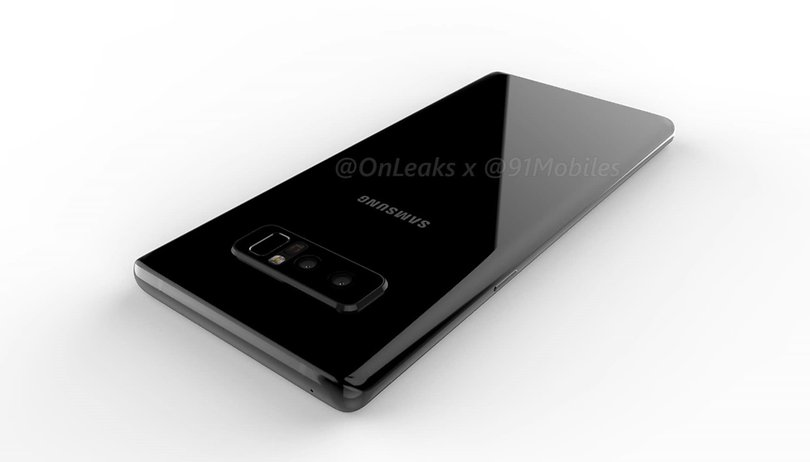 Voici à quoi devrait ressembler le Galaxy Note 8