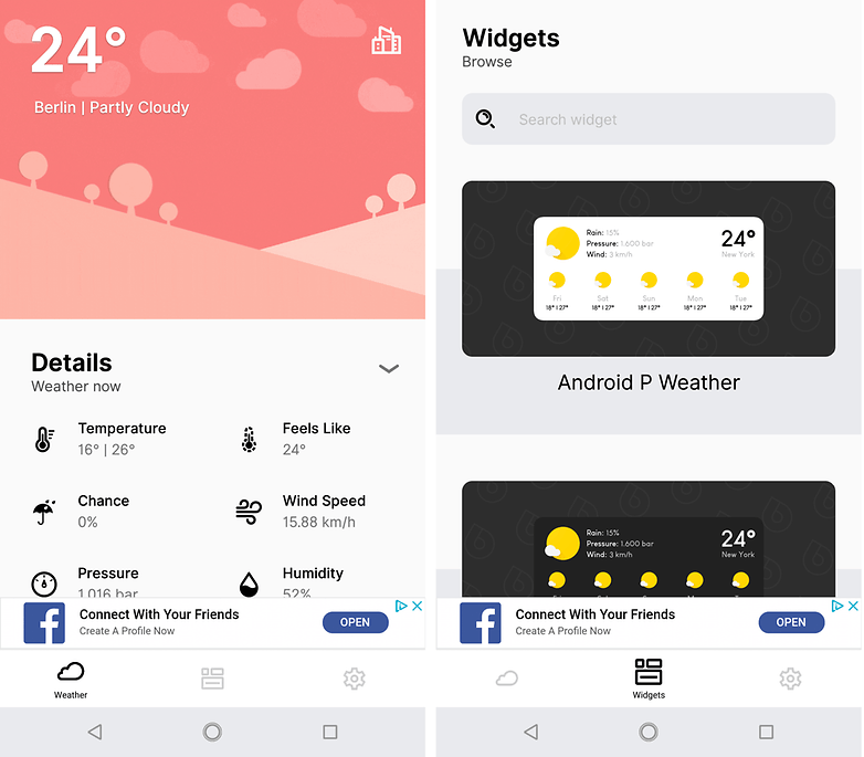 androidpit overdrop weather