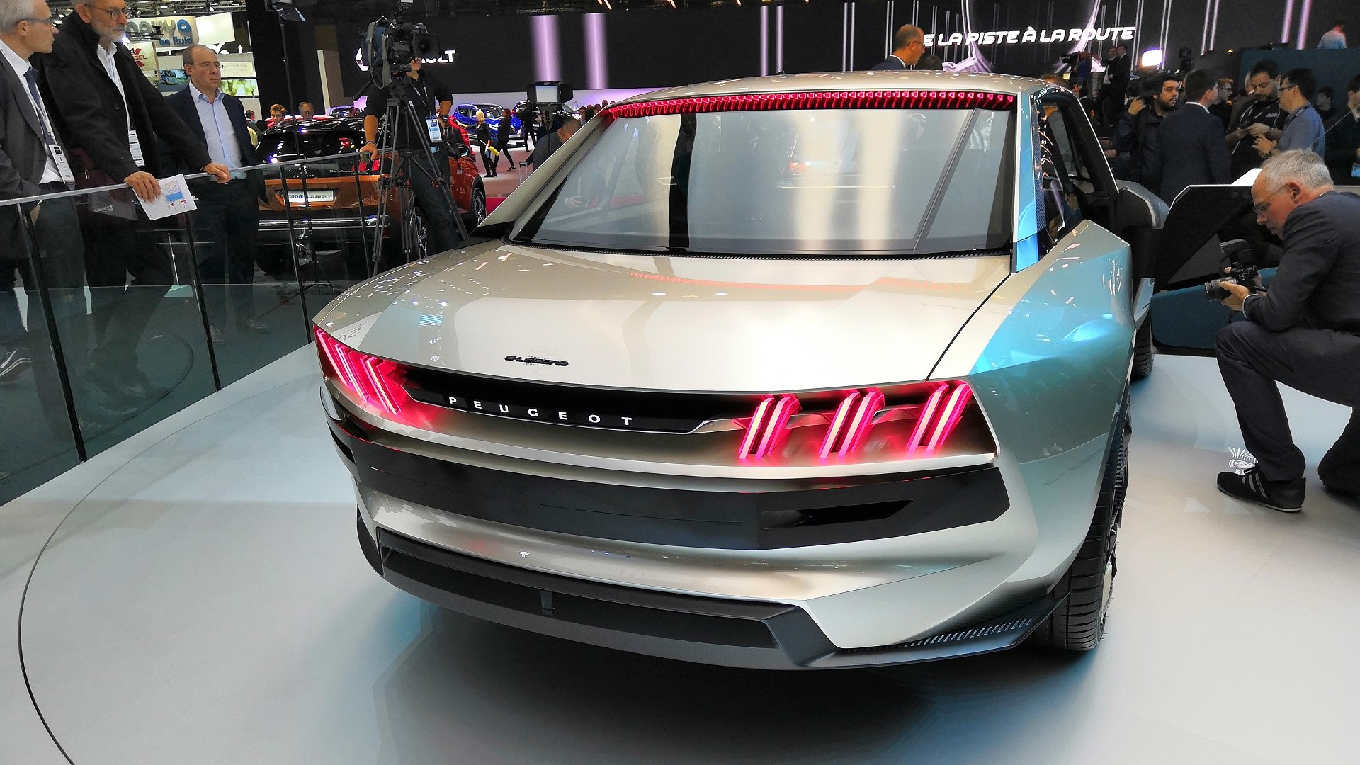 peugeot e legend this flashy coupe could be the future of. Black Bedroom Furniture Sets. Home Design Ideas