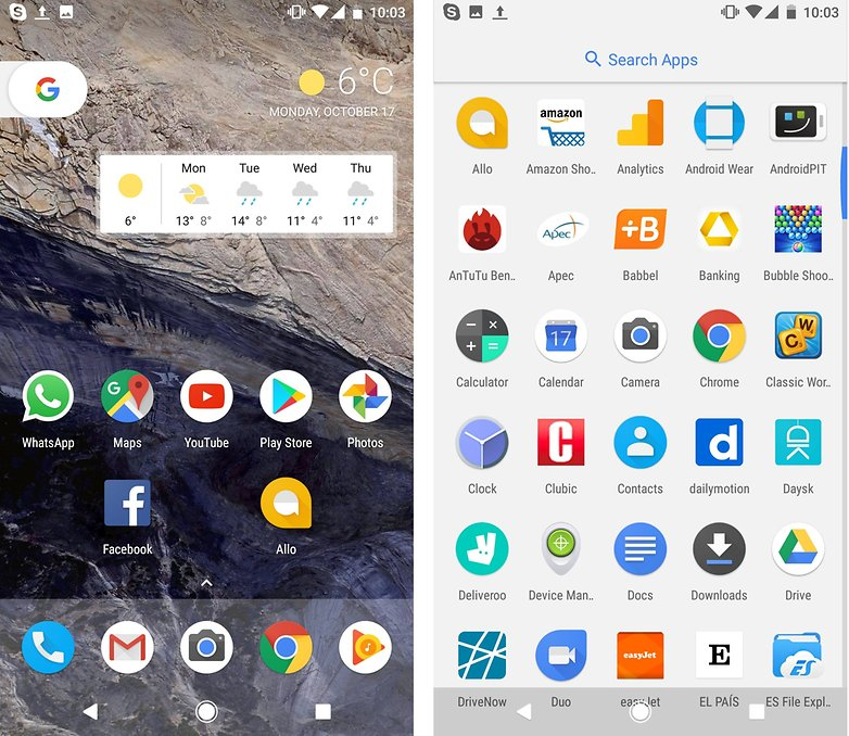 androidpit pixel launcher google
