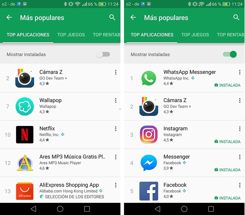 androidpit play store es