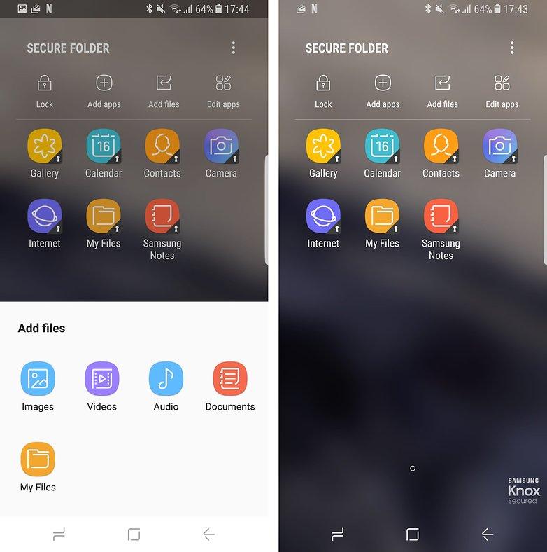 androidpit secure folder samsung