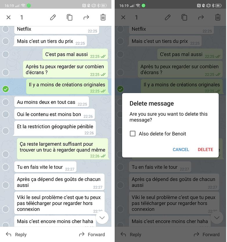 eliminar telegrama androidpit