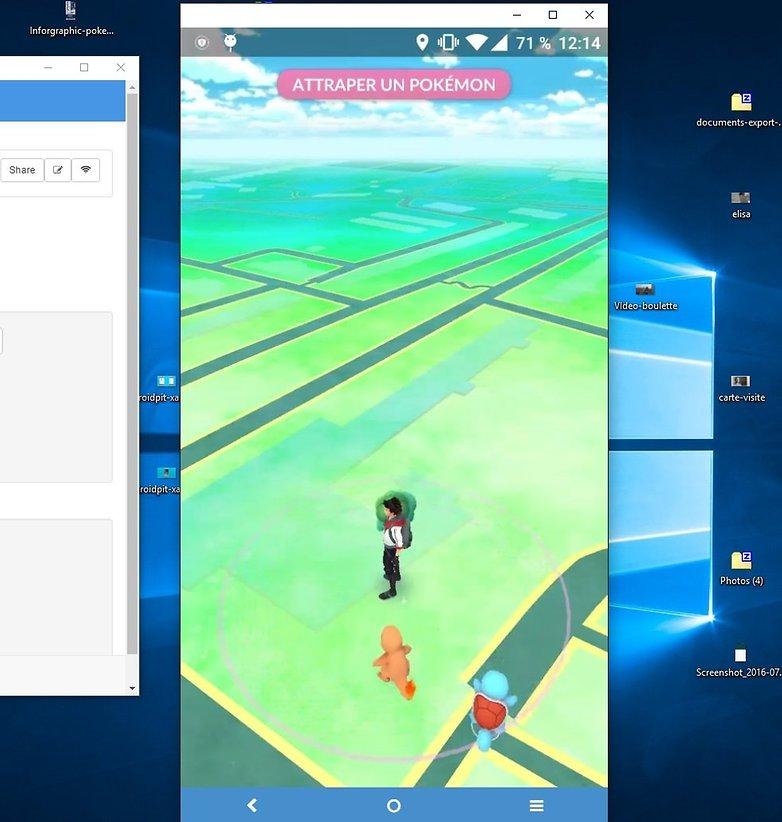 androidpit vysor pokemon go 2