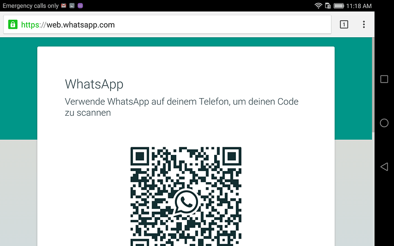 androidpit whatsapp web tablette