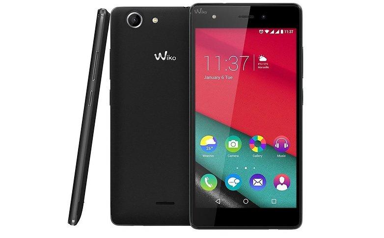 top 5 des meilleurs smartphones wiko androidpit. Black Bedroom Furniture Sets. Home Design Ideas
