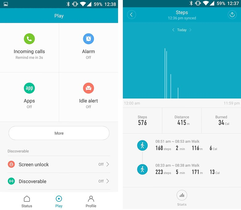 androidpit xiaomi mi band 2 app 2