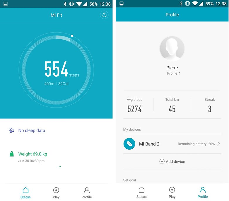 androidpit xiaomi mi band 2 app