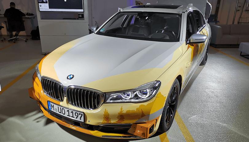 BMW zündet stufenweise den Turbo für autonomes Fahren