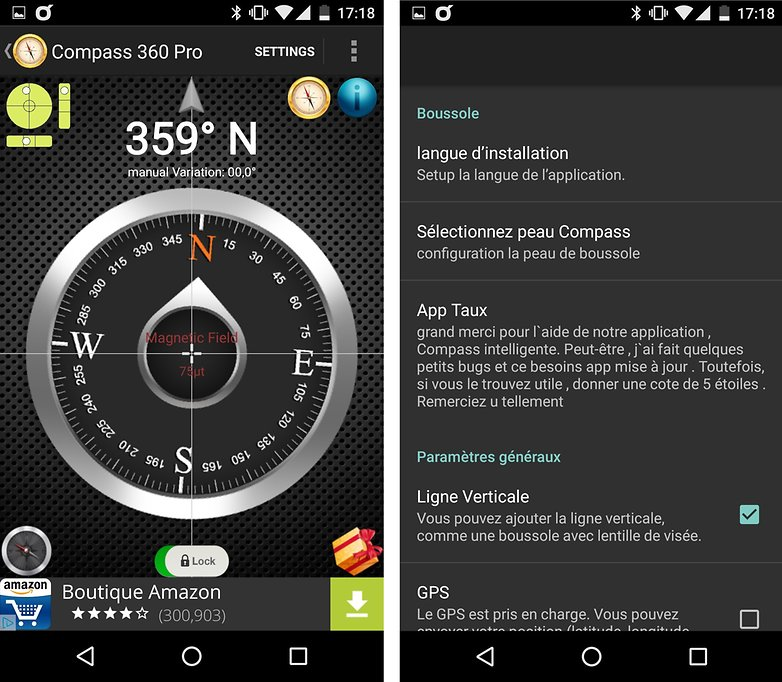 compass360 android