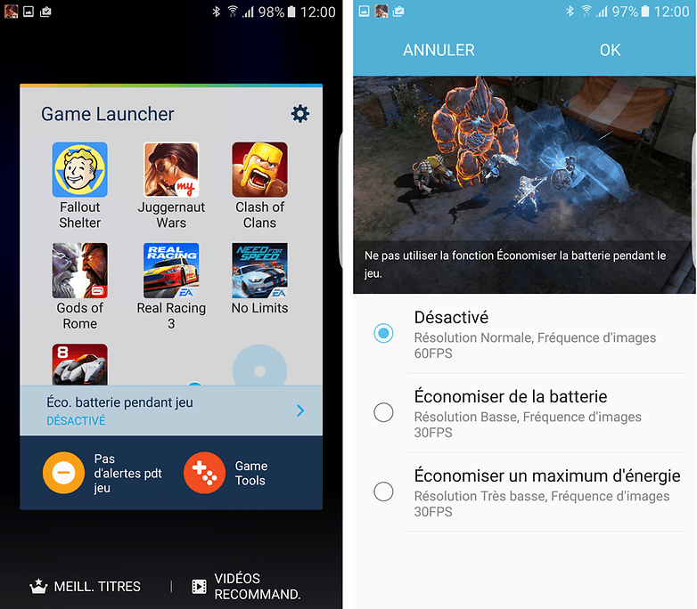 game launcher s7