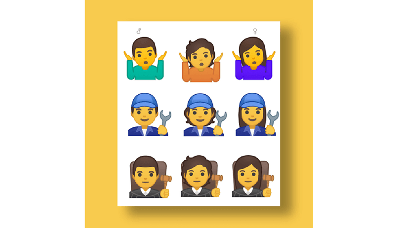 Here are the first gender-neutral emojis from Google