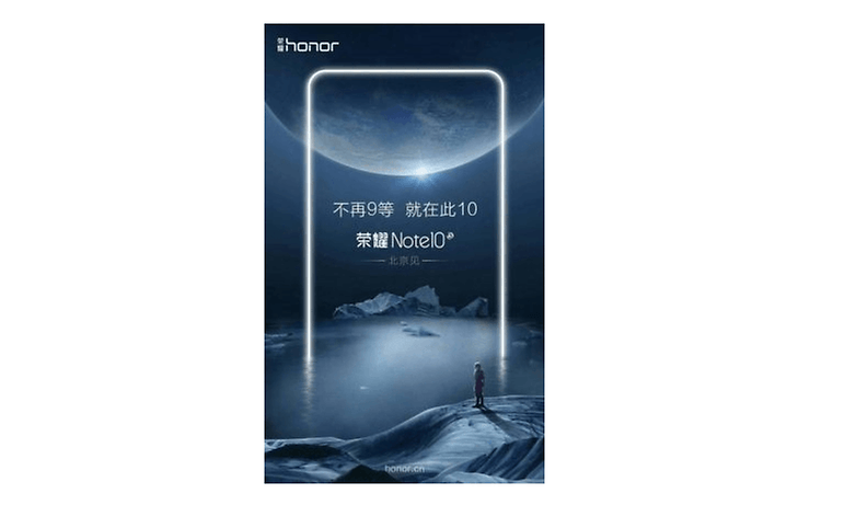 honor note 10 teaser