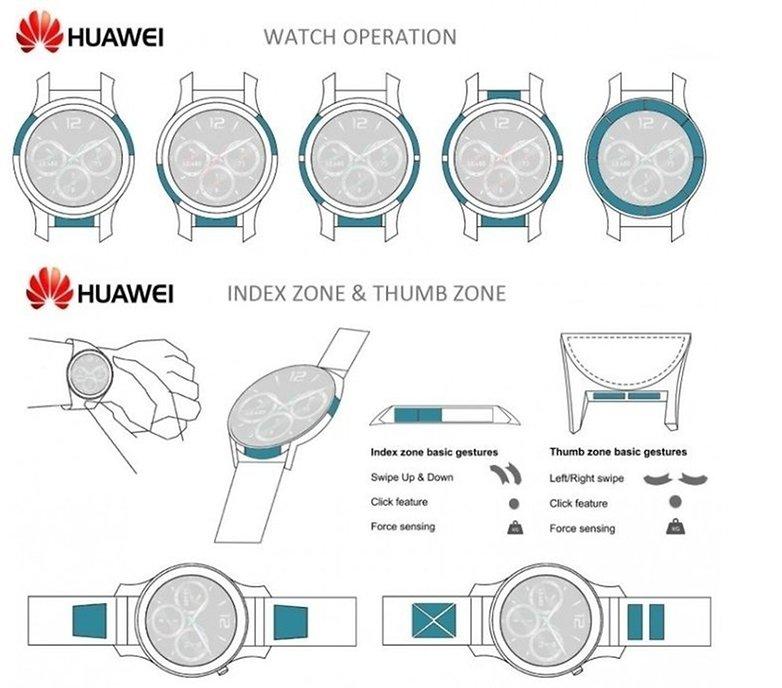 huawei patent smartwatch