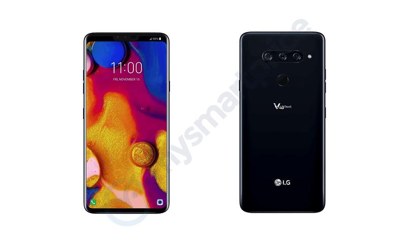 Voici à quoi devrait ressembler le nouveau LG V40 ThinQ
