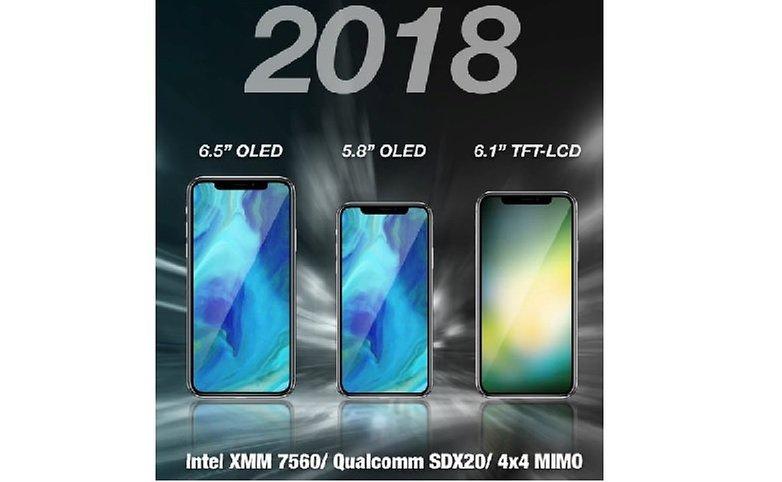 IPhone 2018 : l'hypothèse double SIM, et un prix de départ dès 550 $