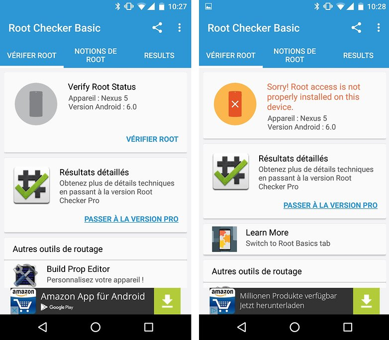 root checker android french