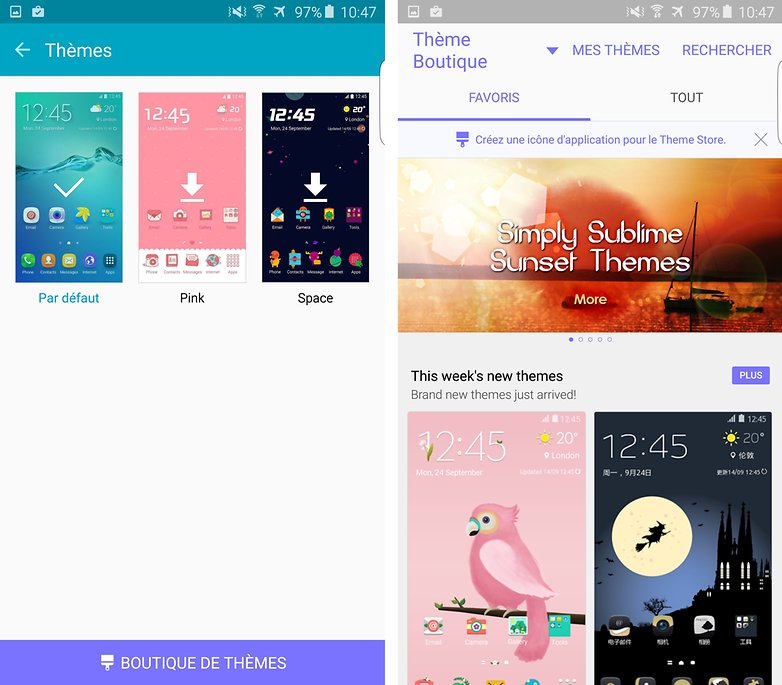 s6 edge plus themes