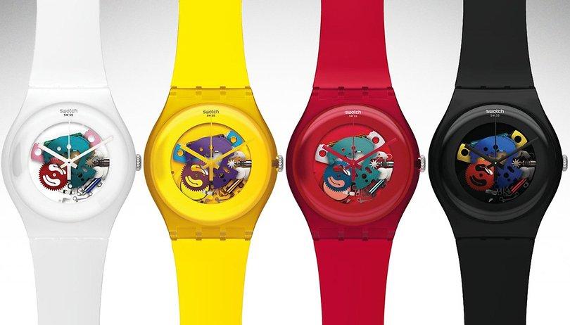 Swatch promet de lancer son système pour smartwatchs début 2019