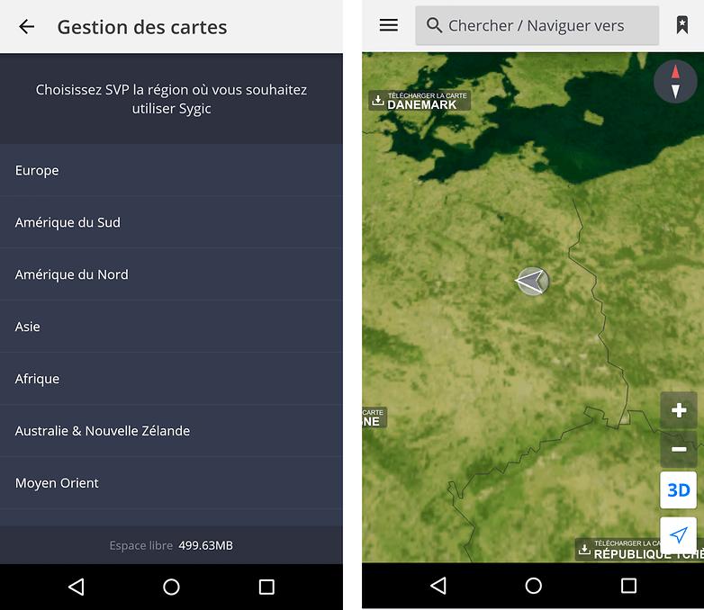 gps radar android offline