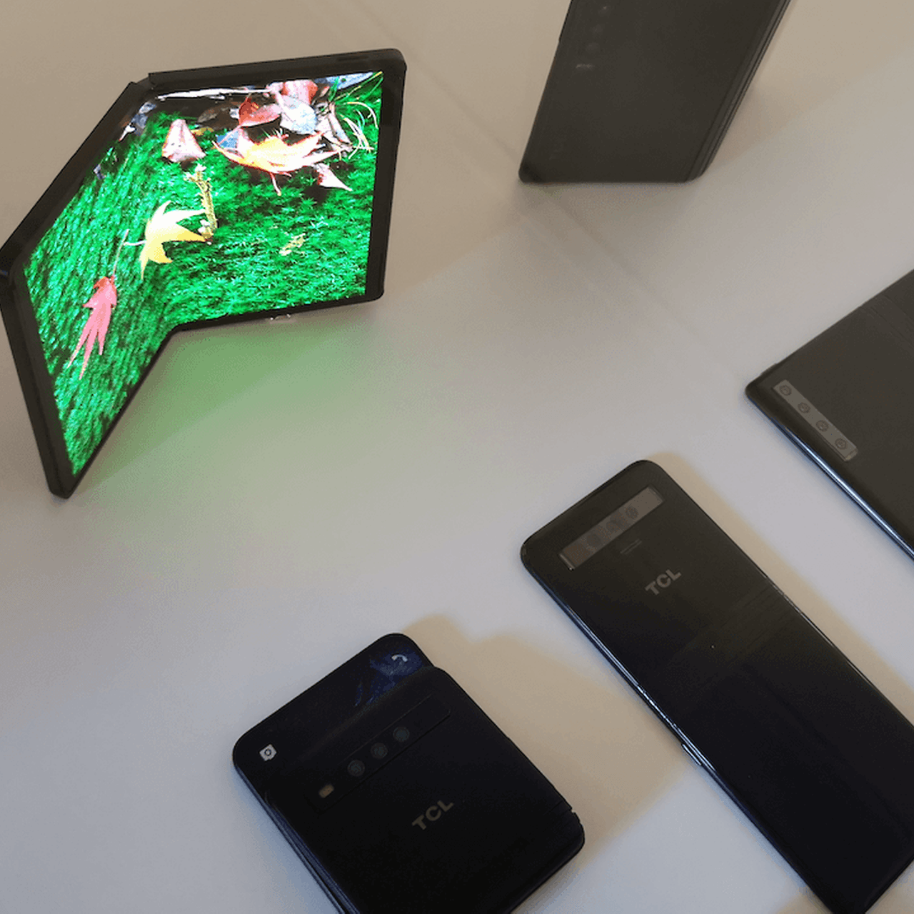 TCL (Alcatel-BlackBerry) is also switching to foldable smartphones