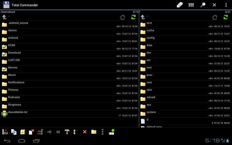 total commander file manager