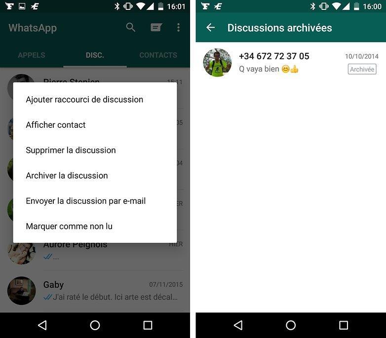 whatsapp archiver