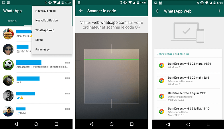comment enregistrer conversation whatsapp sur ordinateur