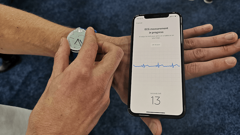 withings move ecg mesure