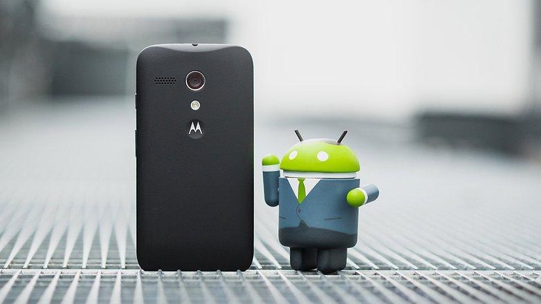 AndroidPIT Moto G 2013 hero