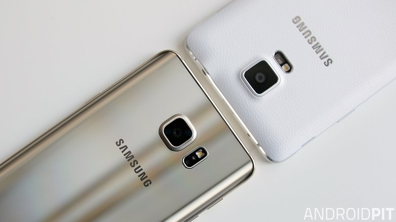 Androidpit Samsung Galaxy Note 5 Vs 4 7