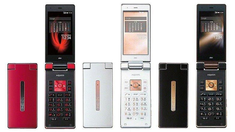 aquos flip phone w782
