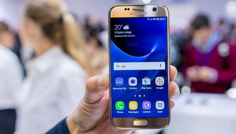 Actualizaciones Android del Samsung Galaxy S7