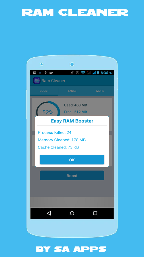 Ram Cleaner- screenshot