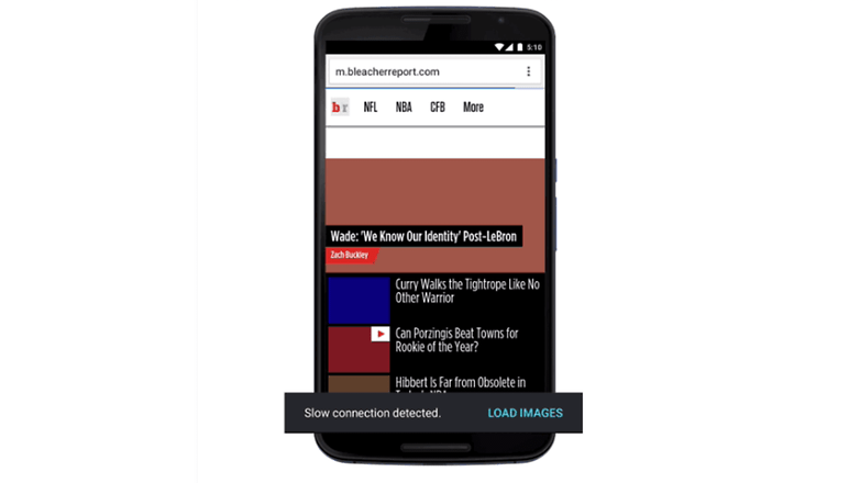 chrome browser new data saver