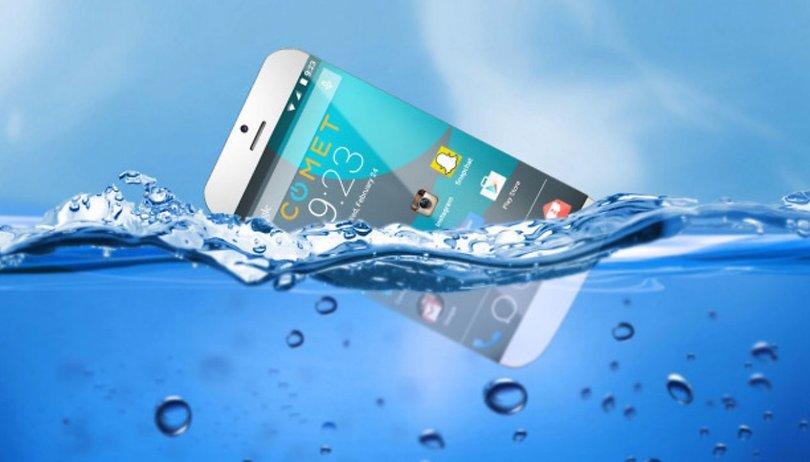 Schwimmendes Smartphone ein Fake?