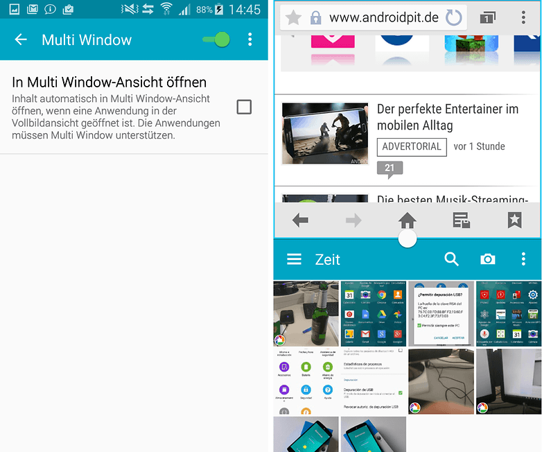 galaxy s5 multi window