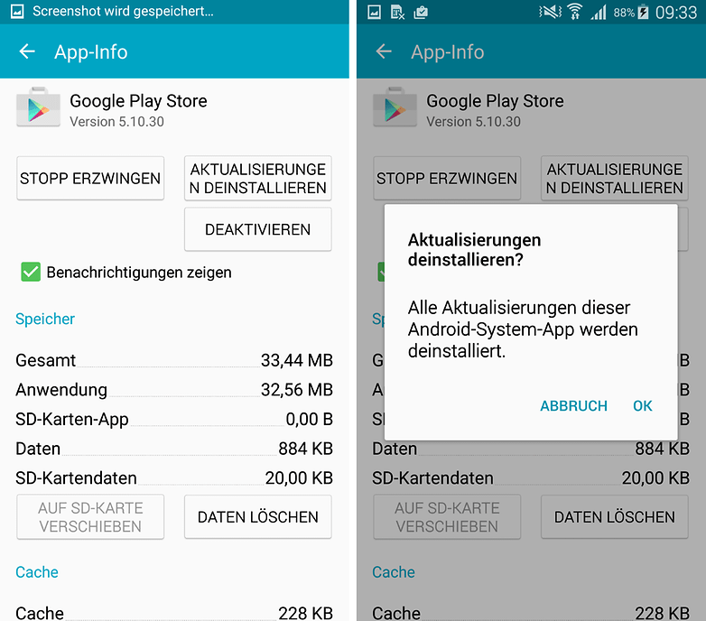 play store app download funktioniert nicht