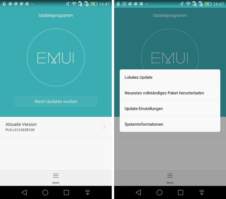 honor 7 android update updateprogramm