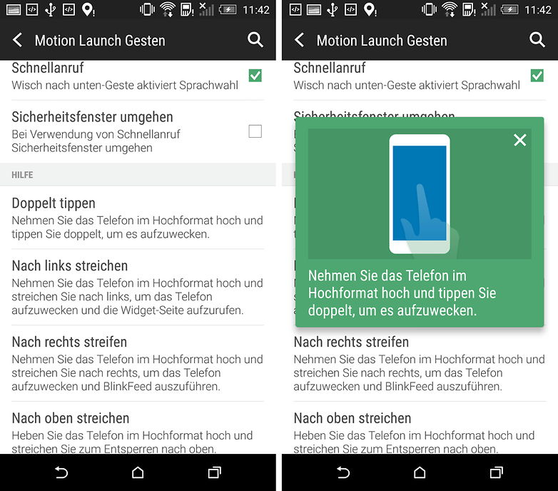 htc one m8 doppeltipp
