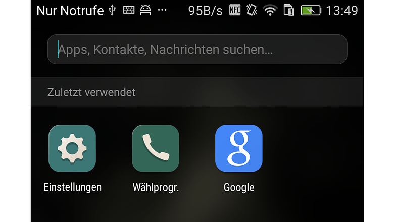 huawei p8 suchfunktion