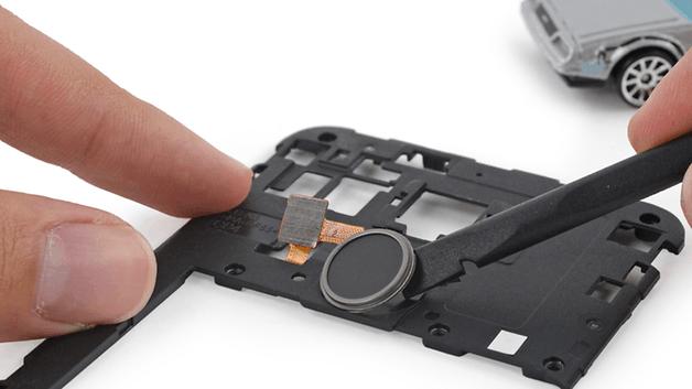 teste de desmontagem do Nexus 5x, ifixit, como remover o sensor de impressão digital do Nexus 5 X