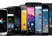 Smartphone-Evolution: Das ist die Nexus-Reihe