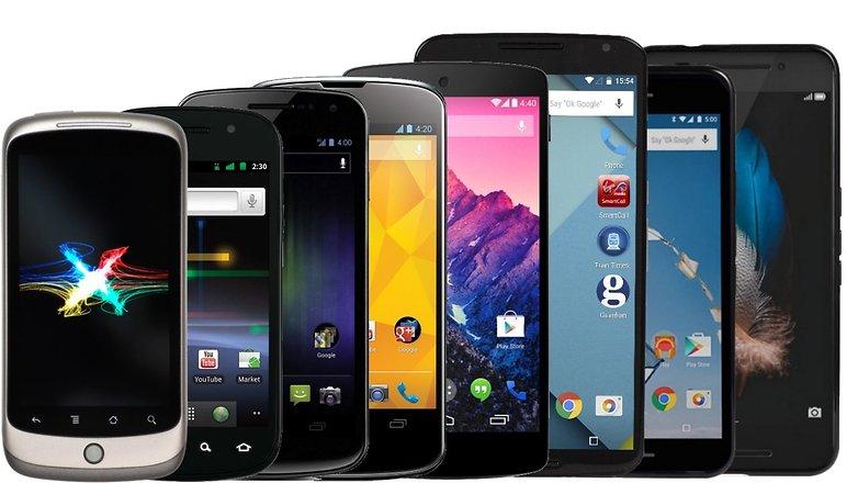 nexus evolution all smartphones