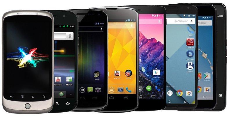 nexus smartphones hero