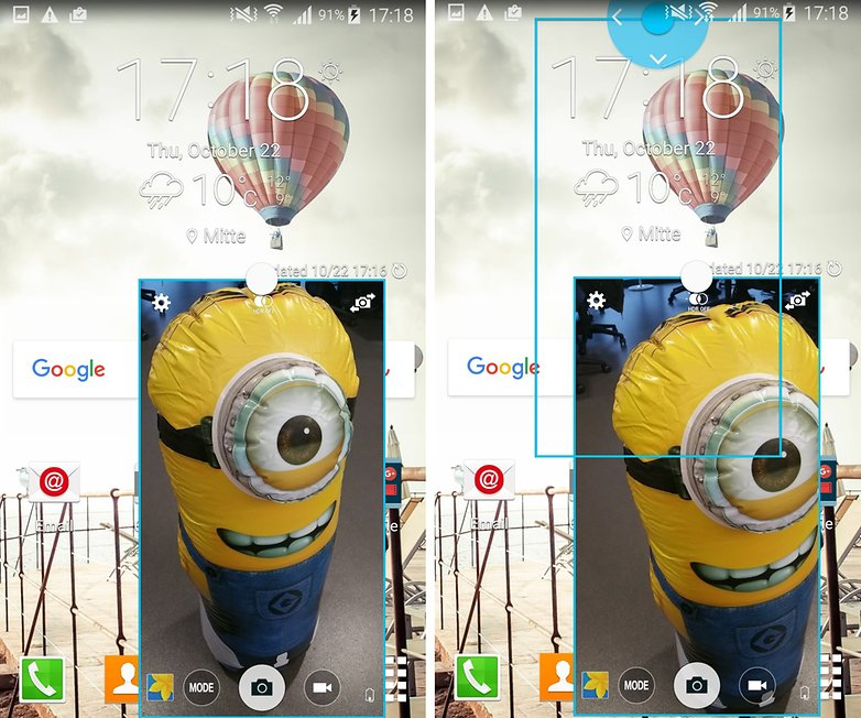 note 4 app fenstermodus