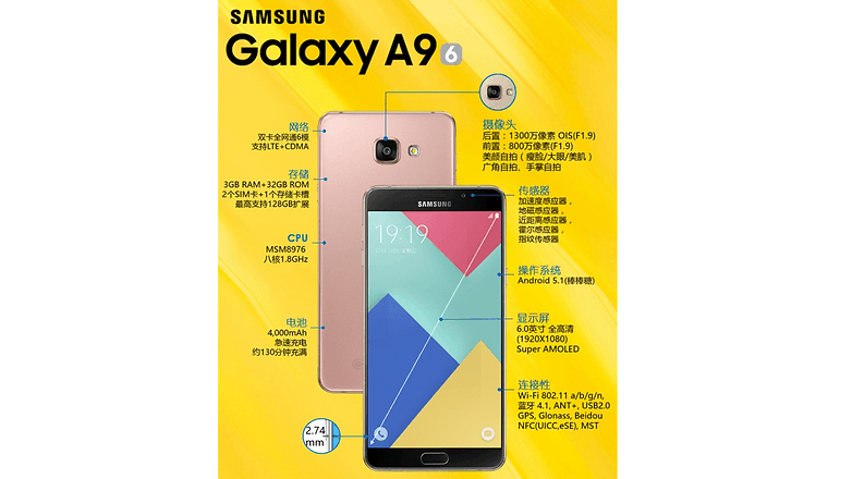 samsung galaxy a9 official 2