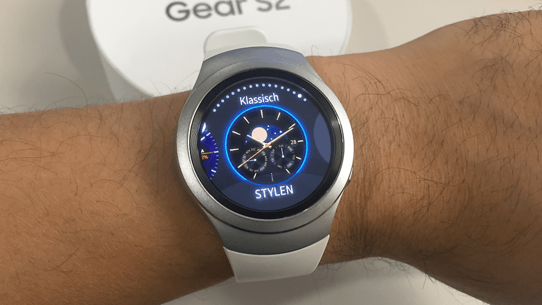 samsung gear s2 de watchface change 2