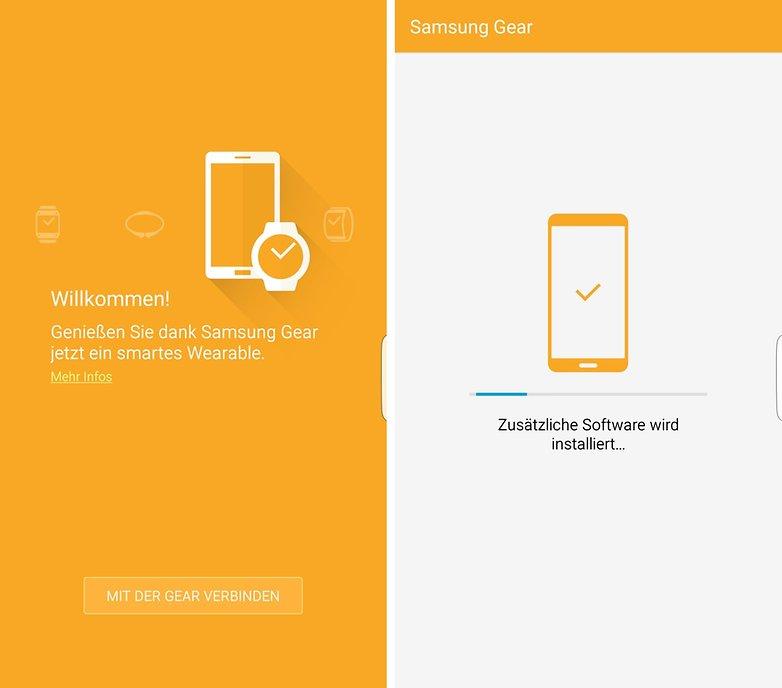 samsung gear s2 verbinden mit smartphone